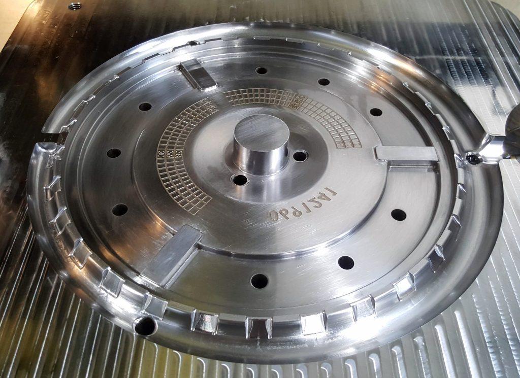 Postizo inyección aluminio